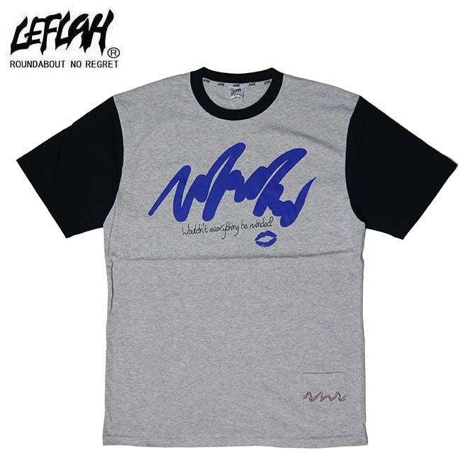 LEFLAH(レフラー) feel me Tシャツ T-SHIRTS TEE (GREY)