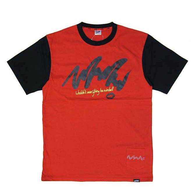 LEFLAH(レフラー) feel me Tシャツ T-SHIRTS TEE (RED)
