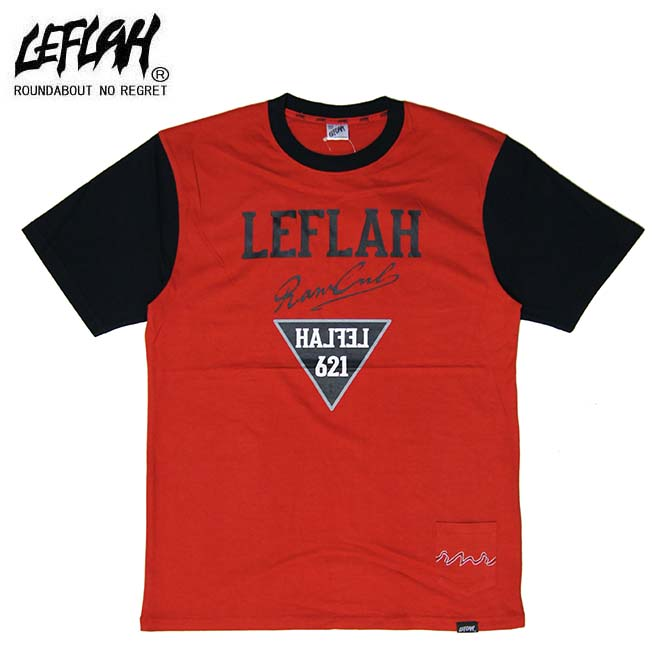 LEFLAH(レフラー) LESS Tシャツ T-SHIRTS TEE (RED)