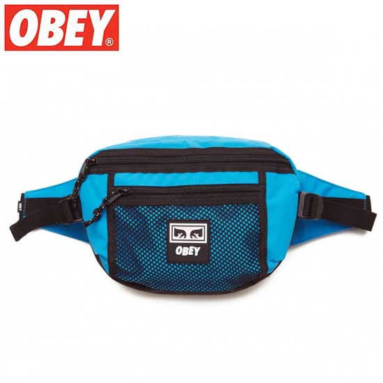 OBEY (オベイ) CONDITIONS WAIST BAG (PURE TEAL) ウェストバッグ ボディーバック