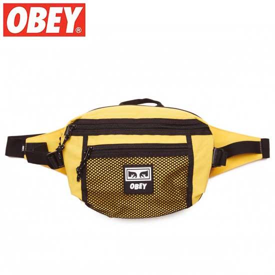 OBEY (オベイ) CONDITIONS WAIST BAG (ENERGY YELLOW) ウェストバッグ ボディーバック