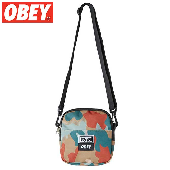 OBEY (オベイ) Drop Out Traveler Bag (Drip Camo) トラベラーバッグ ポーチ