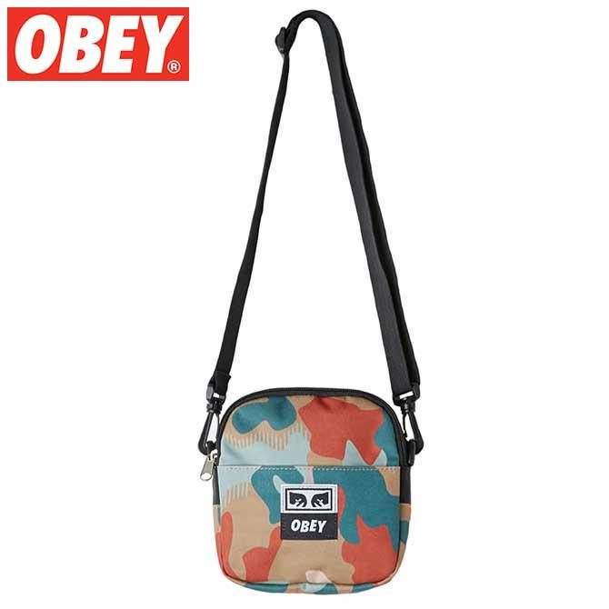 OBEY (オベイ) Drop Out Traveler Bag (Drip Camo) トラベラーバッグ ポーチ