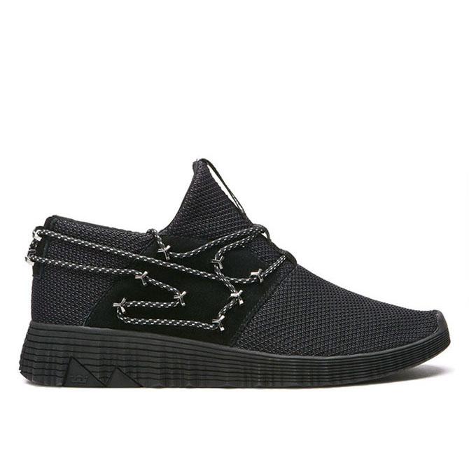 【2018SPRING(1Q)】SUPRA(スープラ) MALLI(マリ) BLACK-BLACK ハイカット シューズ スニーカー【国内正規取扱い店】