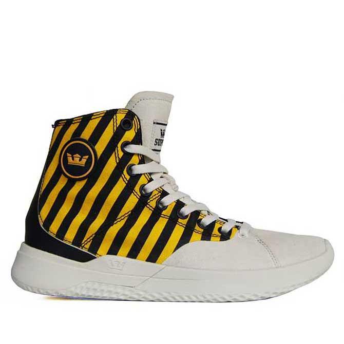 【2019SS】SUPRA(スープラ) STATIK(スタティック) CAUTION STRIPE-BONEシューズ スニーカー【国内正規取扱い店】