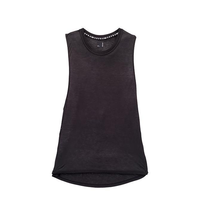 【2019SS】SUPRA(スープラ) BORROWED MUSCLE TANK TOP (BLACK) レディース タンクトップ【国内正規取扱い店】【アパレル/トップス】