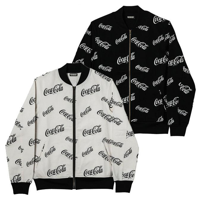 【セール/SALE-25】ZEPHYREN(ゼファレン)/RIB JKT -CocaCola- コカ・コーラコラボレーション リブジャケット