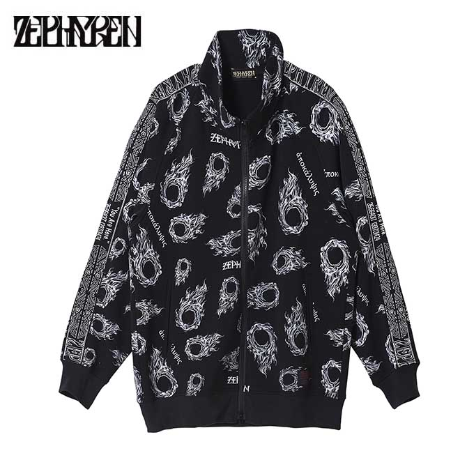 【セール/SALE-30】ZEPHYREN(ゼファレン) BIG JERSEY BLACK (apocalypse) ジャケット