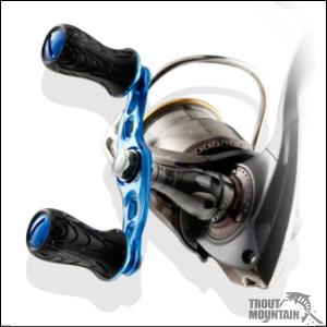 DLIVE(ドライブ)スピニング用ダブルハンドル【ショート70mm】ウェーブ新設計ラウンドノブ仕様
