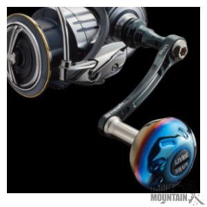 【送料無料】リブレ(メガテック)スピニング用 カスタムハンドルLightArm 65(ライトアーム65)【シマノS2・ダイワ・シマノS3用】【センターナット付】