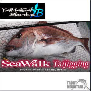 【送料無料】YAMAGA Blanks(ヤマガブランクス) 【SWTJ-63M】SeaWalk (シーウォーク)Taijigging(タイジギング)【ライトジギング/スピニングモデル】