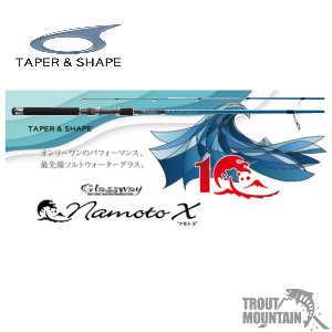 TAPER & SHAPE (テーパーアンドシェイプ)namoto X(ナモト X )【GNAXS-710LMS】