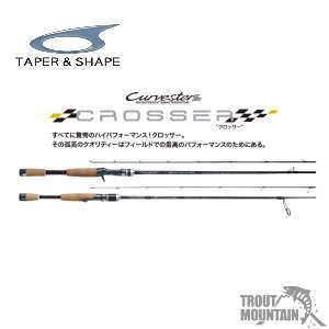 TAPER & SHAPE (テーパーアンドシェイプ)CROSSER(クロッサー )【CCRC-67MHF】