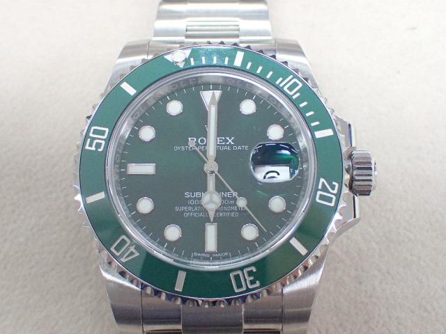 【中古AB/使用感小】ROLEX ロレックス サブマリーナ 116610LV 保 サブマリーナ メンズ 腕時計  20207464