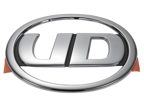 劣化が見られる際は新品交換がオススメ 送料無料 UD 倉 Trucks 正規激安 純正 フロント 969130Z00B UDトラックス UDマーク エンブレム 96913-0Z00B クオン
