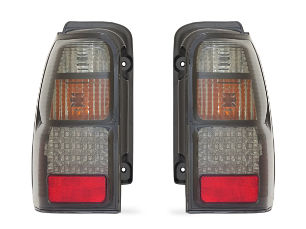 18系 ハイラックスサーフ LEDテール ブラック トヨタ 180 185 系 RZN180W VZN180W RZN185W VZN185W テールライト DEPO製