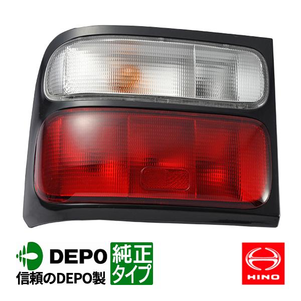 トヨタ コースター 後期 テール 左側 赤白テール 平成15年~ 純正タイプ 台湾製 日野 リエッセ キャンピングカー マイクロバス