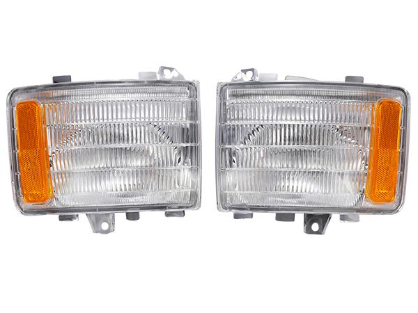 スーパーグレート 前期 コーナー ランプ 左右セット 台湾DEPO製 三菱ふそう 平成8年6月~平成17年 純正タイプ MC932223 MC932222