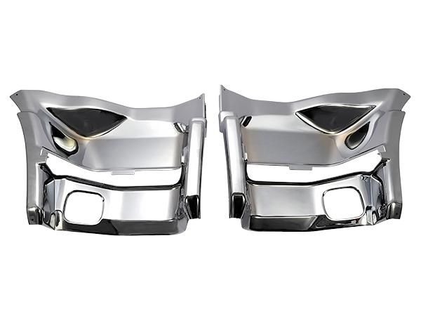 いすゞ NEW ギガ (平成21年5月~) メッキ ステップ [被せ式] 左右セット 新品