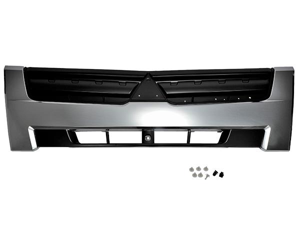 ブルーテックキャンター 標準ボディ メッキ グリル インナーブラック 三菱ふそう 平成22年11月~ フロント ラジエーターグリル
