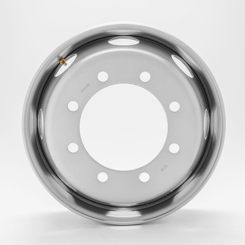トラック用スチールホイール 19.5×6.75 8H 新ISO規 DOTーX ディーオーティーエックス
