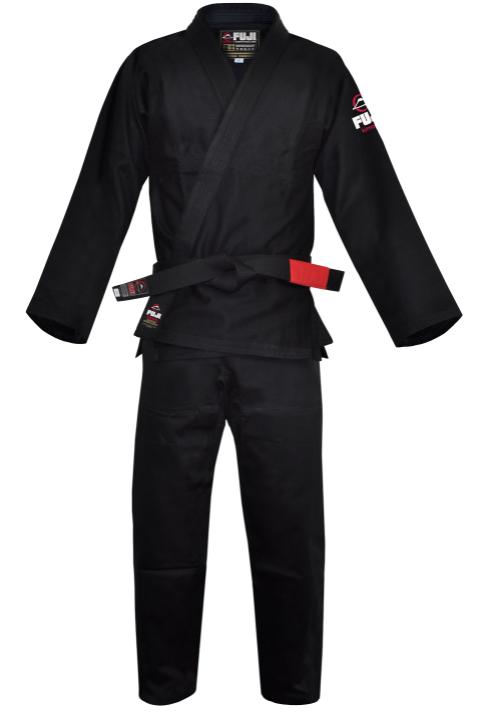 ブラジリアン柔術【FUJI SPORTS フジスポーツ All Around】黒色 A0・A1・A2・A3 柔術着/柔術衣/道着