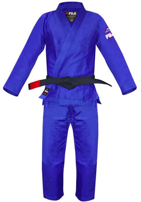 ブラジリアン柔術【FUJI SPORTS フジスポーツ All Around】青色 A0・A1・A2・A3 柔術着/柔術衣/道着