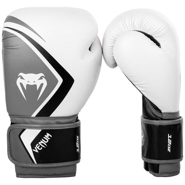 ボクシンググローブ ファクトリーアウトレット Venumベノム 予約販売 コンテンダー 2.0 白 グレー 14オンス 16オンス 10オンス ベヌム ヴェヌム 12オンス