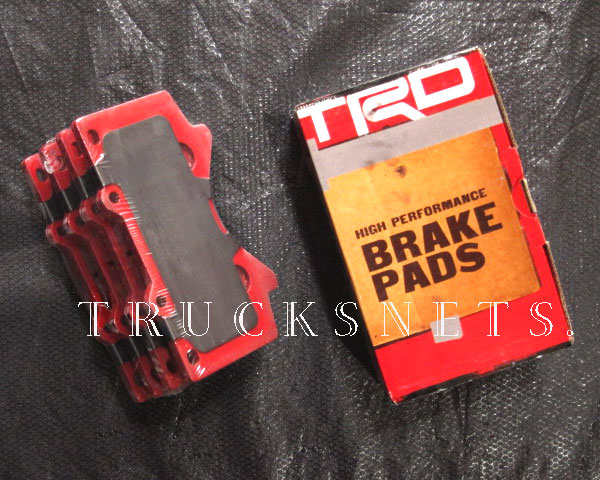 トヨタ セコイア 2008年~2017年 TRD 強化 ブレーキパット フロント ブレーキパッド