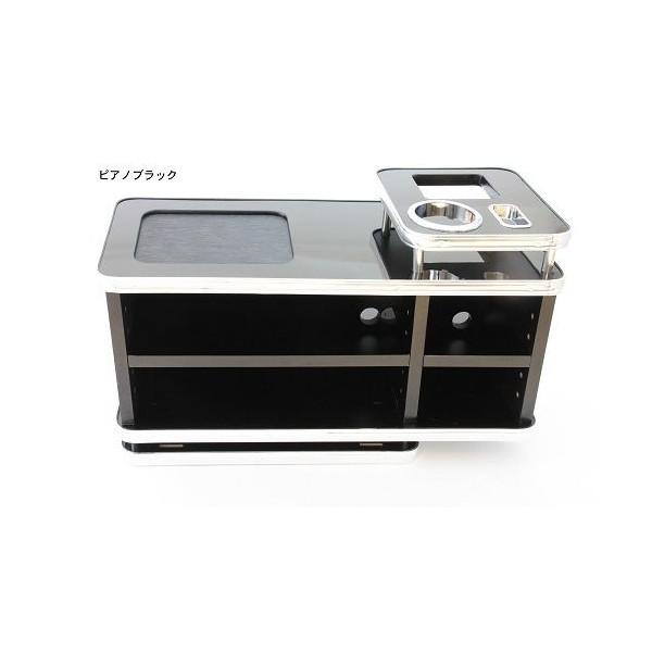☆送料無料☆【快適空間創造】コンソールBOX(ピアノブラック)