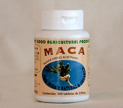 マカ・タブレット 100% マカ 純正 粒 サプリ マカ MACA アルギニン アミノ酸 アンデス ペルー 無添加 オーガニック 最高品質 産後 回復