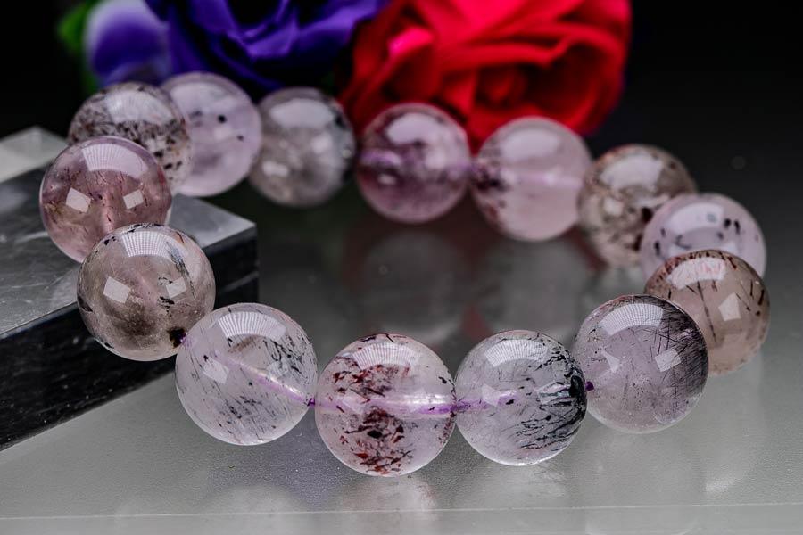 スーパーセブン 粒径15mm セイクリッドセブン 1点物 レピドクロサイト ゲーサイト 天然石 原石
