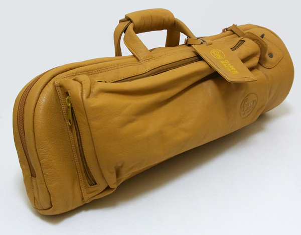 【楽天市場】gard Bags レザー シリーズ シングル トランペット用ケース Lt :池部楽器トランペットステーション