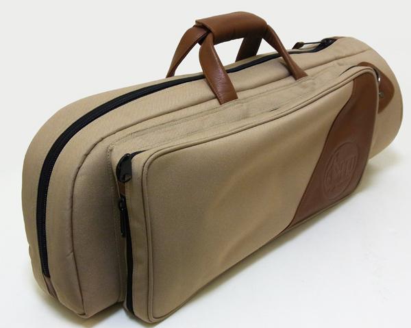 GARD BAGS ファブリック レザー コンビシリーズ シングル トランペット用ケース (BR)