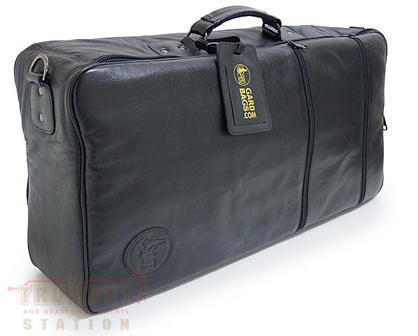 GARD BAGS トランペット用トリプルコンパクトケース(レザー・ブラック)