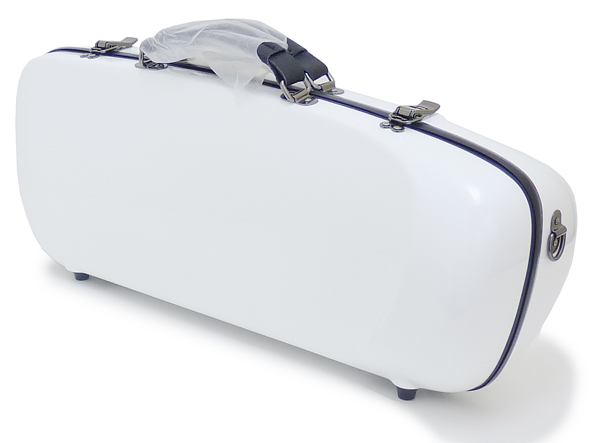 C.C.シャイニーケースII エアロトランペット用 商舗 シングルケース ホワイト WH 最新号掲載アイテム