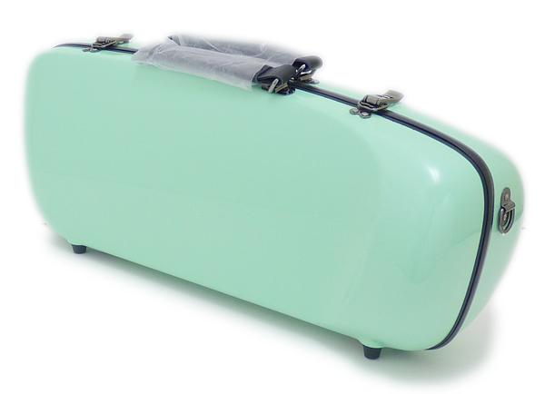 C.C.シャイニーケースII エアロトランペット用 シングルケース PG パステルグリーン 卓出 メーカー公式ショップ