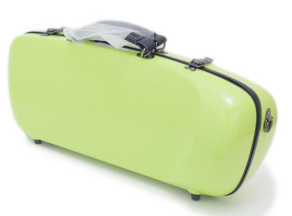 C.C.シャイニーケースII 今だけスーパーセール限定 エアロトランペット用 在庫限り シングルケース アップルグリーン AG
