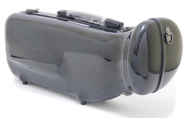 C.C.シャイニーケースII トランペット用 シングルケース ブラック[BK]