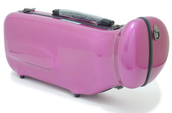 【数量限定特価!!】C.C.シャイニーケースII トランペット用 シングルケース パープル[PPL]