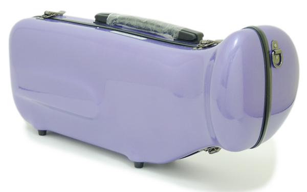 【NEW カラー☆全20色!!】C.C.シャイニーケースII トランペット用 シングルケース ラベンダー[LV]