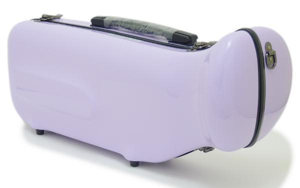 【NEW カラー☆全20色!!】C.C.シャイニーケースII トランペット用 シングルケース ウィステリア[WS]