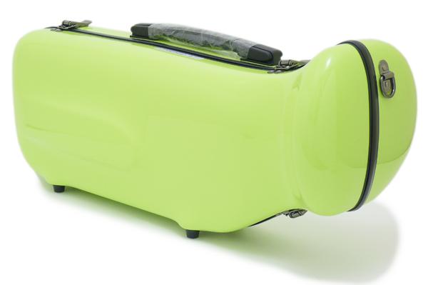 【NEW カラー☆全20色!!】C.C.シャイニーケースII トランペット用 シングルケース アップルグリーン[AG]