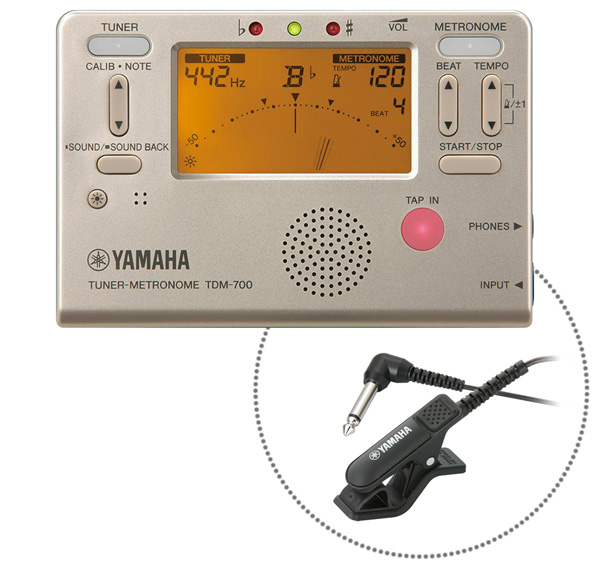 YAMAHA TDM-700GM マイク付き 人気海外一番 [ギフト/プレゼント/ご褒美] チューナーメトロノーム