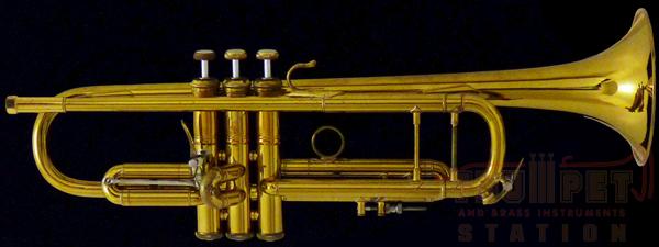【中古】Early Elkhart Bach Stradivarius 37☆ GL #898*3 【Bb トランペット】