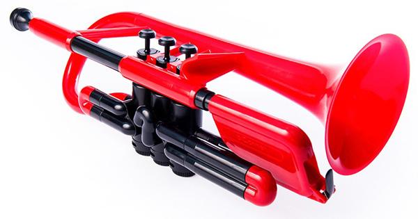 pInstruments pCornet (ピー・コルネット) Red 【プラスチック製 コルネット】