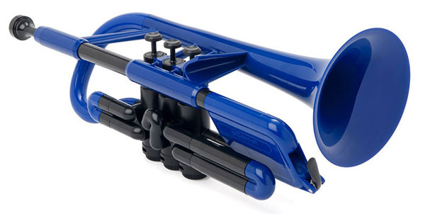 pInstruments pCornet (ピー・コルネット) Blue 【プラスチック製 コルネット】