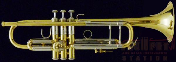 【中古】Early Elkhart Bach Stradivarius GL # 50**3 【Bb トランペット】