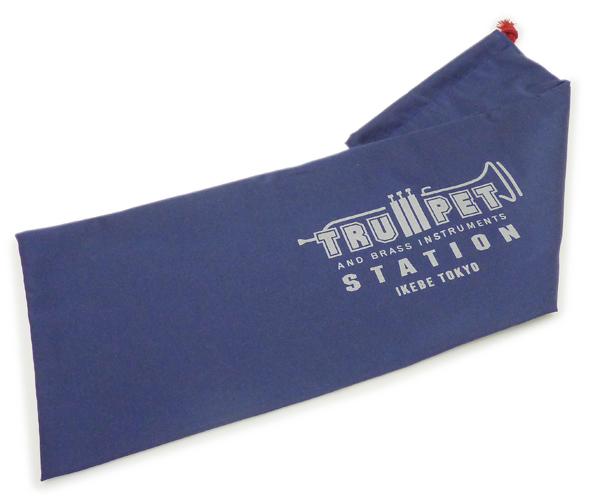 驚きの値段 トランペットステーション オリジナル C-GUARD ネイビー お値打ち価格で 保護袋 トランペット用