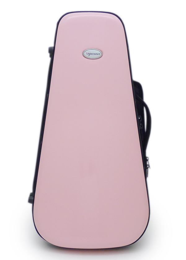 【限定特価】Vega cover case トランペット ファイバー シングル スリム ケース ピンク
